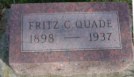QUADE, FRITZ C. - Crawford County, Iowa   FRITZ C. QUADE