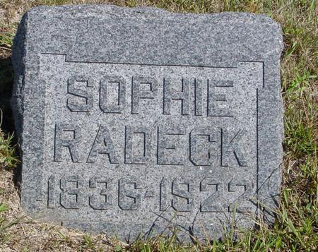 RADECK, SOPHIE - Crawford County, Iowa | SOPHIE RADECK