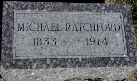 RATCHFORD, MICHAEL - Crawford County, Iowa   MICHAEL RATCHFORD