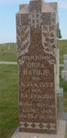 RATHJE, DORA & WALTER - Crawford County, Iowa | DORA & WALTER RATHJE