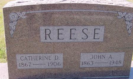 REESE, JOHN & CATHERINE - Crawford County, Iowa   JOHN & CATHERINE REESE