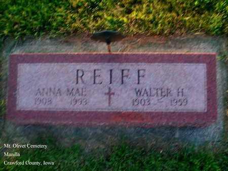 REIFF, ANNA MAE - Crawford County, Iowa | ANNA MAE REIFF