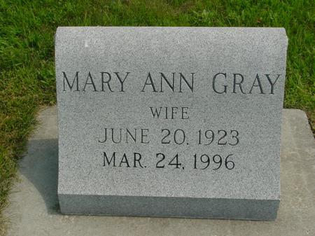 REIMER, MARY ANN - Crawford County, Iowa   MARY ANN REIMER