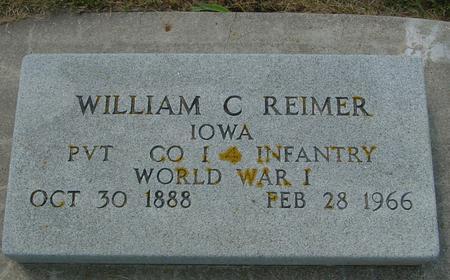 REIMER, WILLIAM C. - Crawford County, Iowa   WILLIAM C. REIMER