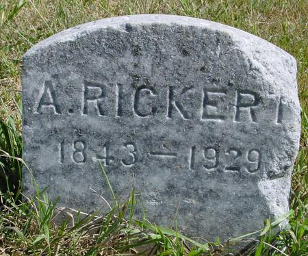RICKERT, ANNA - Crawford County, Iowa | ANNA RICKERT