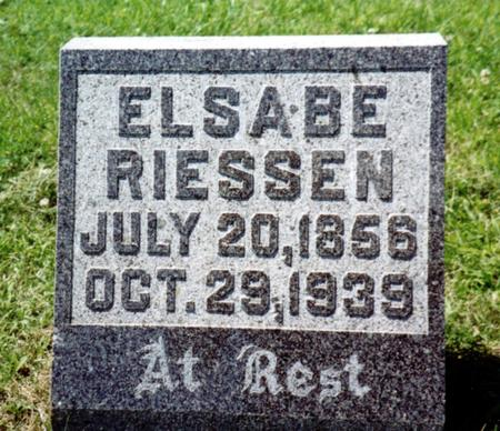 RIESSEN, ELSABE - Crawford County, Iowa | ELSABE RIESSEN