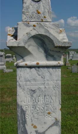 RIESSEN, JOACHEM - Crawford County, Iowa   JOACHEM RIESSEN