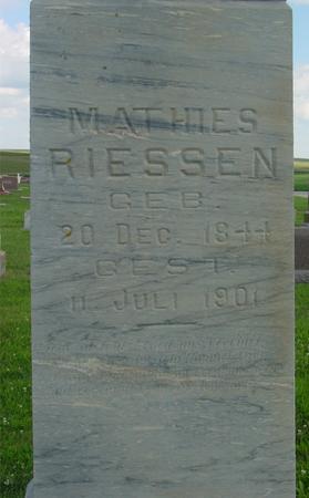 RIESSEN, MATTHIES - Crawford County, Iowa | MATTHIES RIESSEN