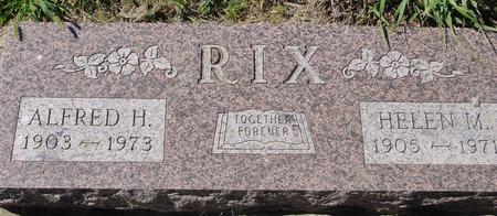 RIX, ALFRED & HELEN - Crawford County, Iowa | ALFRED & HELEN RIX