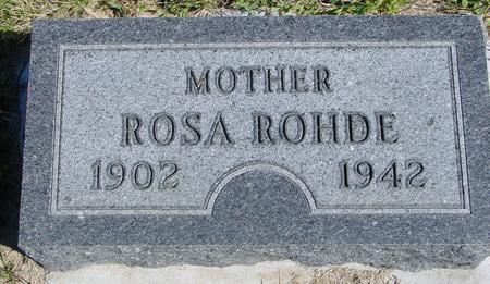 ROHDE, ROSA - Crawford County, Iowa | ROSA ROHDE