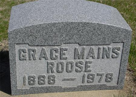 ROOSE, GRACE - Crawford County, Iowa | GRACE ROOSE