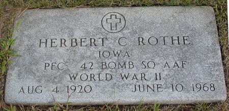 ROTHE, HERBERT - Crawford County, Iowa | HERBERT ROTHE