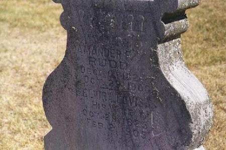 RUDD, AMANDER FRANKLIN - Crawford County, Iowa | AMANDER FRANKLIN RUDD