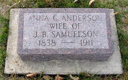 ANDERSON SAMUELSON, ANNA C. - Crawford County, Iowa | ANNA C. ANDERSON SAMUELSON