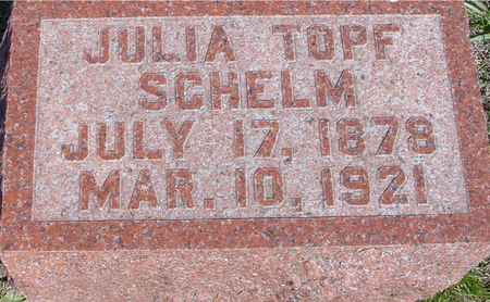 TOPF SCHELM, JULIA - Crawford County, Iowa | JULIA TOPF SCHELM