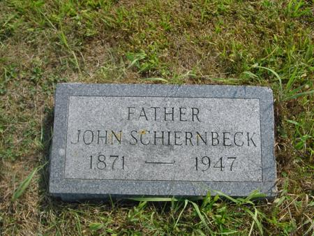 SCHIERNBECK, JOHN - Crawford County, Iowa | JOHN SCHIERNBECK
