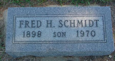 SCHMIDT, FRED H. - Crawford County, Iowa | FRED H. SCHMIDT