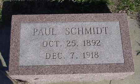 SCHMIDT, PAUL - Crawford County, Iowa | PAUL SCHMIDT
