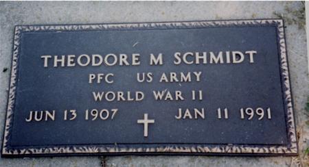 SCHMIDT, THEODORE M. - Crawford County, Iowa | THEODORE M. SCHMIDT