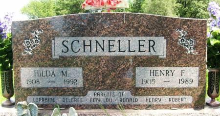 SCHNELLER, HENRY F. - Crawford County, Iowa | HENRY F. SCHNELLER