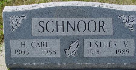 SCHNOOR, H. CARL & ESTHER W. - Crawford County, Iowa | H. CARL & ESTHER W. SCHNOOR