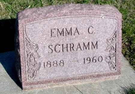 SCHRAMM, EMMA C. - Crawford County, Iowa   EMMA C. SCHRAMM