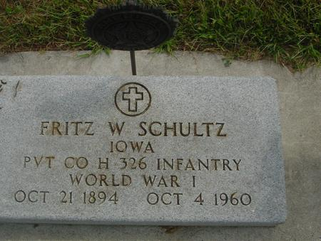 SCHULTZ, FRITZ W. - Crawford County, Iowa | FRITZ W. SCHULTZ