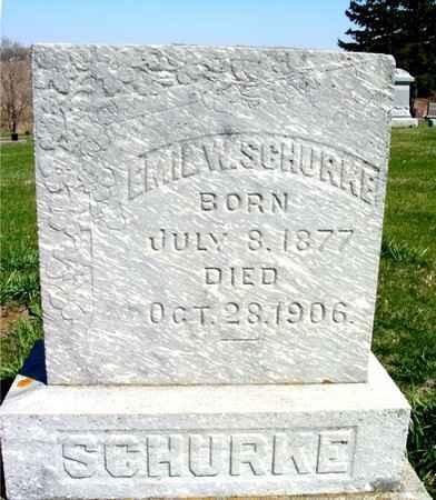 SCHURKE, EMIL W. - Crawford County, Iowa | EMIL W. SCHURKE