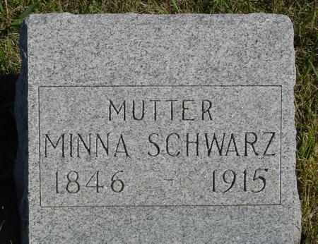 SCHWARZ, MINNA - Crawford County, Iowa | MINNA SCHWARZ