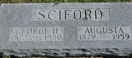 SCIFORD, GEORGE & AUGUSTA - Crawford County, Iowa | GEORGE & AUGUSTA SCIFORD