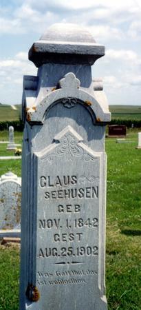 SEEHUSEN, CLAUS - Crawford County, Iowa | CLAUS SEEHUSEN