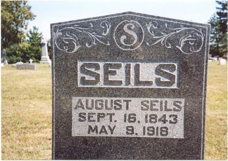 SEILS, AUGUST - Crawford County, Iowa | AUGUST SEILS