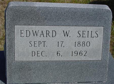 SEILS, EDWARD W. - Crawford County, Iowa   EDWARD W. SEILS