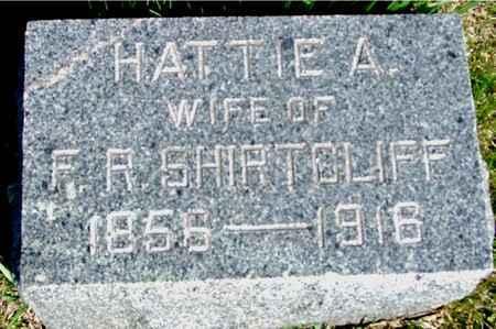 SHIRTCLIFF, HATTIE A. - Crawford County, Iowa | HATTIE A. SHIRTCLIFF