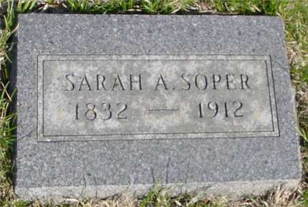 SOPER, SARAH A. - Crawford County, Iowa | SARAH A. SOPER