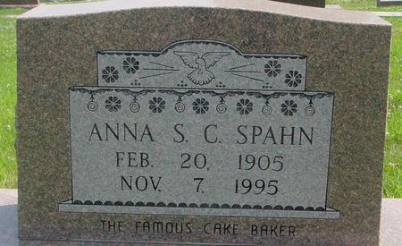 SPAHN, ANNA  S. C. - Crawford County, Iowa | ANNA  S. C. SPAHN