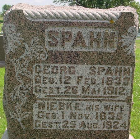 SPAHN, GEORG - Crawford County, Iowa | GEORG SPAHN