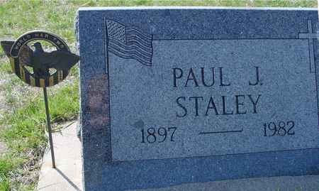 STALEY, PAUL J. - Crawford County, Iowa   PAUL J. STALEY