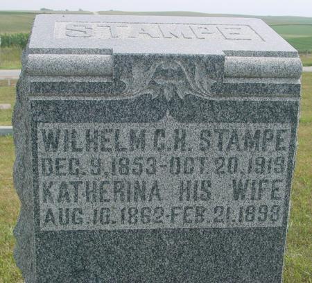 STAMPE, WILHELM & KATHERINA. - Crawford County, Iowa | WILHELM & KATHERINA. STAMPE