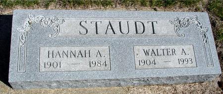 STAUDT, WALTER & HANNAH - Crawford County, Iowa | WALTER & HANNAH STAUDT