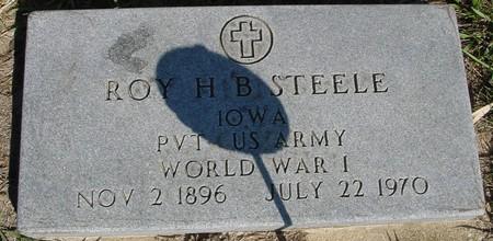 STEELE, ROY H. B. - Crawford County, Iowa | ROY H. B. STEELE