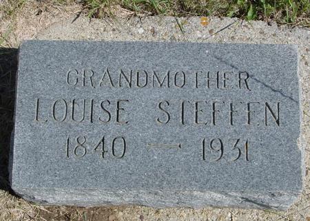 STEFFEN, LOUISE - Crawford County, Iowa | LOUISE STEFFEN