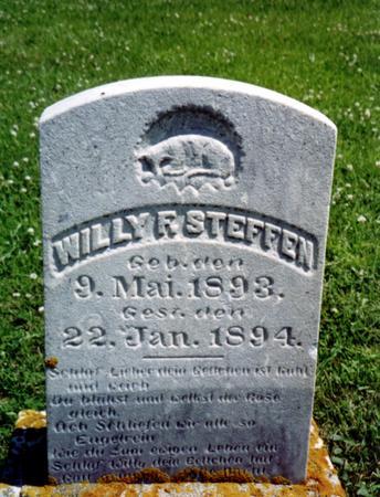 STEFFEN, WILLY F. - Crawford County, Iowa | WILLY F. STEFFEN