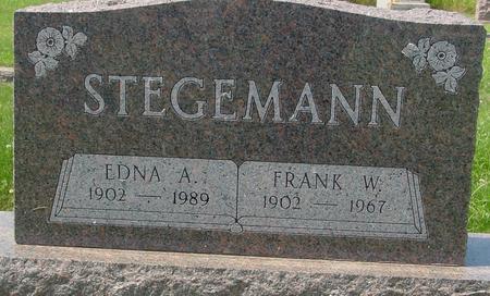 STEGEMANN, EDNA A. - Crawford County, Iowa | EDNA A. STEGEMANN