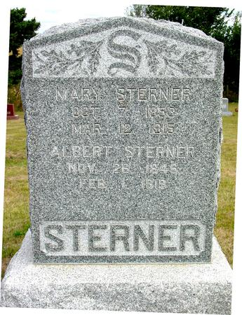STERNER, MARY & ALBERT - Crawford County, Iowa | MARY & ALBERT STERNER