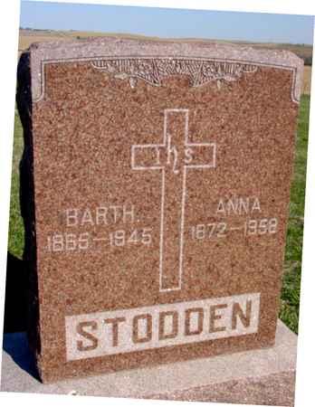 STODDEN, BARTH. & ANNA - Crawford County, Iowa   BARTH. & ANNA STODDEN