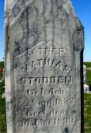 STODDEN, MATHIAS - Crawford County, Iowa   MATHIAS STODDEN