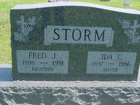 STORM, FRED J. - Crawford County, Iowa | FRED J. STORM