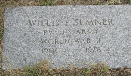 SUMNER, WILLIS F. - Crawford County, Iowa | WILLIS F. SUMNER