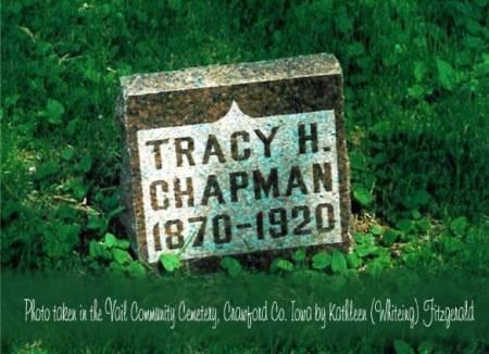 CHAPMAN, TRACY HOLLISTER - Crawford County, Iowa | TRACY HOLLISTER CHAPMAN